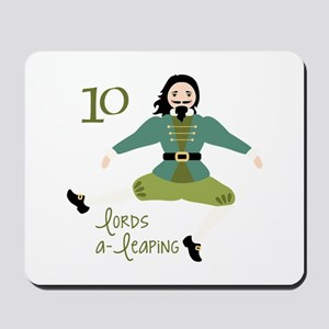 10 loRDS a- leaPiNG Mousepad