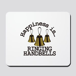 Happiness is Ringing Mousepad