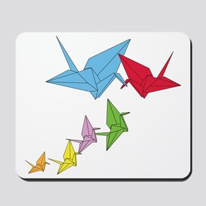 Origami Family Mousepad