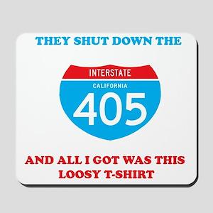 interstate-4052 Mousepad