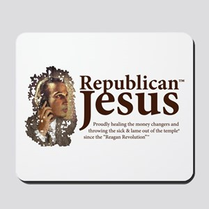 Republican Jesus Mousepad