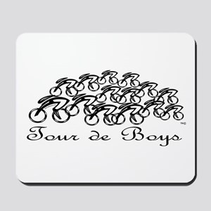 Tour de Boys Mousepad