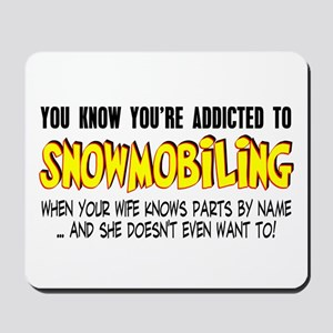 YKYATS - Wife Snowmobile Parts Mousepad