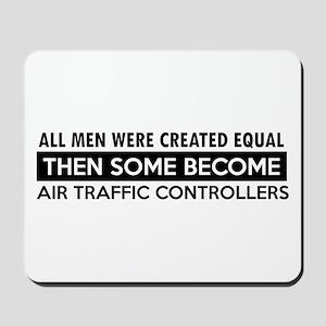 Air Traffic Controllers Designs Mousepad