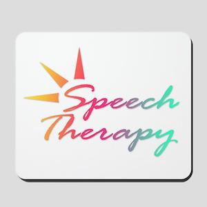 Speech Therapy Mousepad