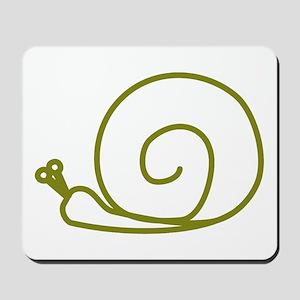Green Snail Mousepad
