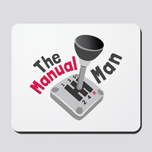 Manual Man Mousepad