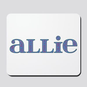 Allie Carved Metal Mousepad