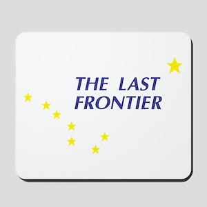 Alaska The Last Frontier Stat Mousepad