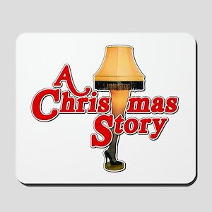 A Christmas Story Movie Lamp Mousepad