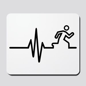 Runner frequency Mousepad
