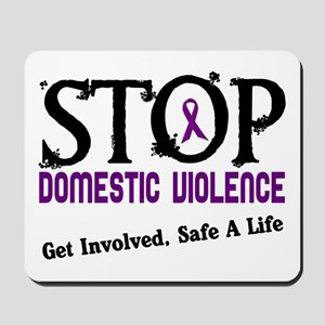 Stop Domestic Violence 2 Mousepad