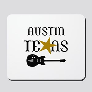 AUSTIN TEXAS MUSIC Mousepad