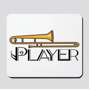Trombone Player Mousepad