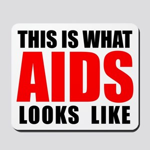 What AIDS looks like Mousepad