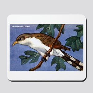 Yellow-Billed Cuckoo Bird Mousepad