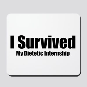 Dietetic Intern Mousepad