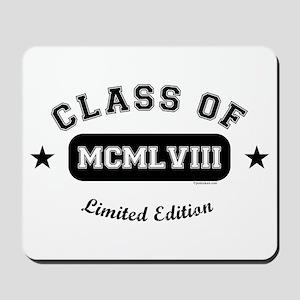 Class of 1958 Mousepad