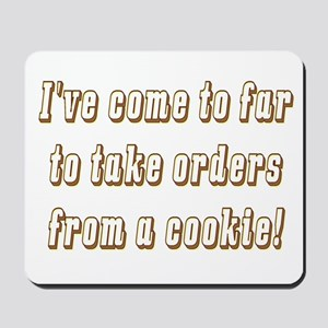 The cookie Mousepad