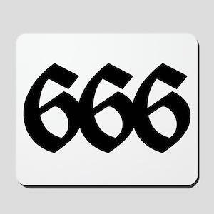 666 Mousepad