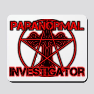Paranormal signs Mousepad