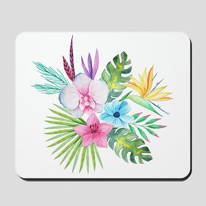 Watercolor Tropical Bouquet 3 Mousepad
