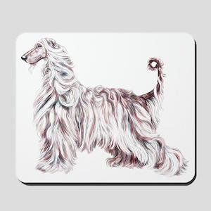Afghan Hound Elegance Mousepad
