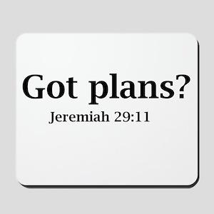 Got Plans? Mousepad