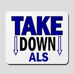 Take Down ALS 1 Mousepad