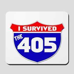 I survived the 405 Mousepad