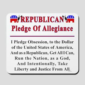Republican Pledge Mousepad