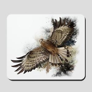 Falcon Flight Mousepad