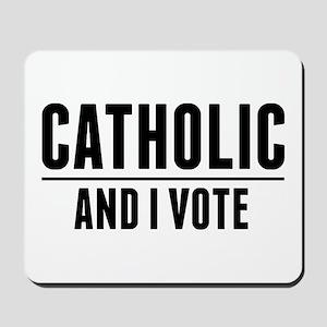 Catholic Voter Mousepad