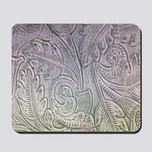 modern pattern western carved leather texture Mous
