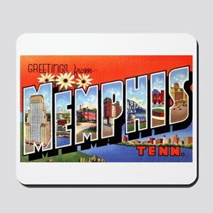 Memphis Tennessee Greetings Mousepad