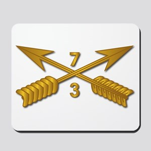 3rd Bn 7th SFG Branch wo Txt Mousepad