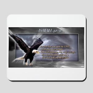 ISAIAH 40:31 Mousepad