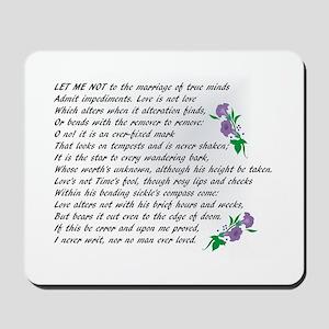 Sonnet 116 Mousepad