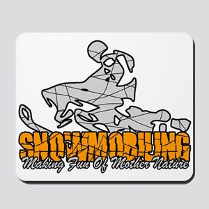 Snowmobiling Mousepad