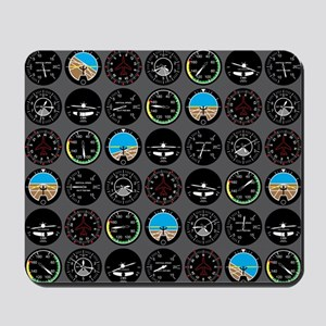 Flight Instruments Mousepad