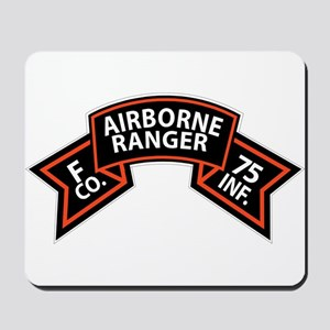 F Co 75th Infantry (Ranger) Scroll Mousepad