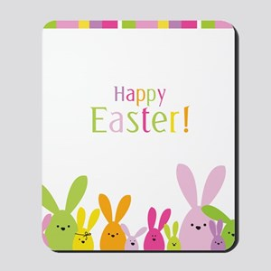 Easter Rabbits Mousepad
