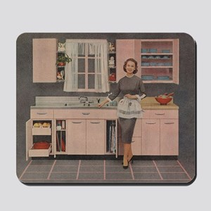 Happy Housewife Mousepad