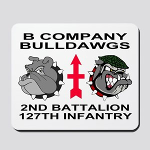 2-127th Infantry <BR>B Company Mousepad 2
