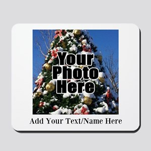 Custom Personalized Color Photo and Text Mousepad
