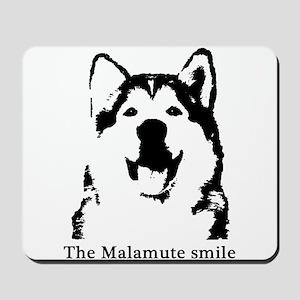 The Malamute Smile Mousepad
