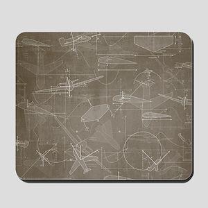 Aerodynamics Mousepad