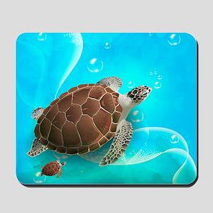 Cute Sea Turtles Mousepad