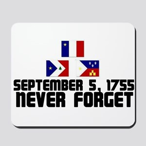 Never Forget w/ Flags Mousepad