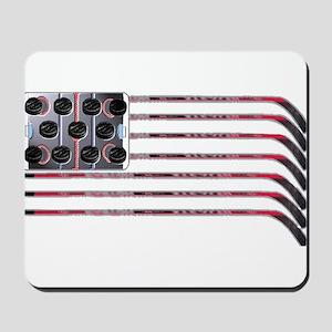 US Hockey Flag Mousepad